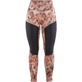 Craft SubZ Gevoerde Leggings Dames, print nova/buff
